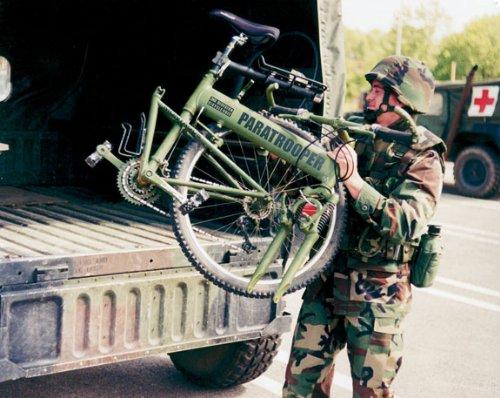 Montague Paratrooper Tactical Folding Mountain Bike